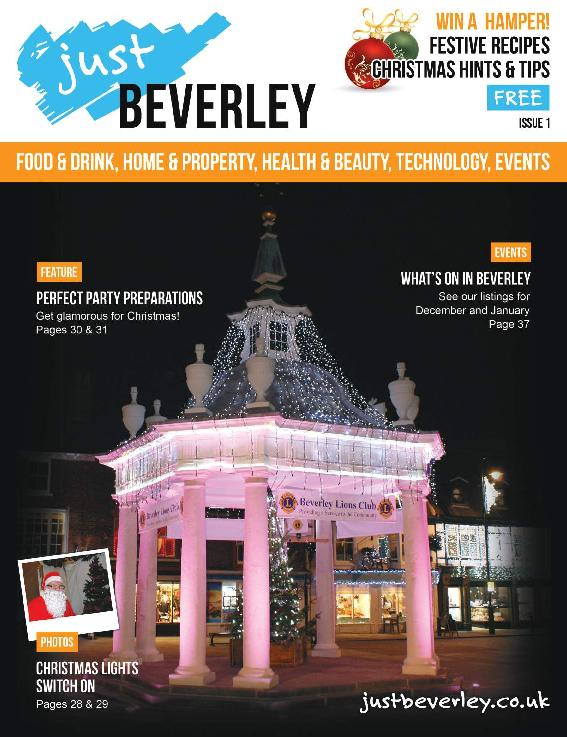 Just Beverley Magazine - Issue 1