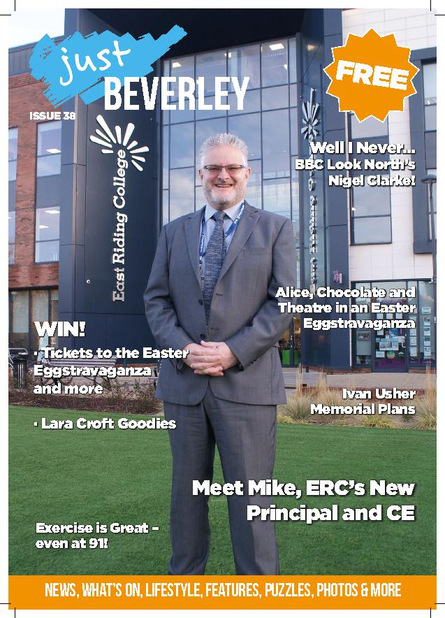 Just Beverley Magazine - issue 38