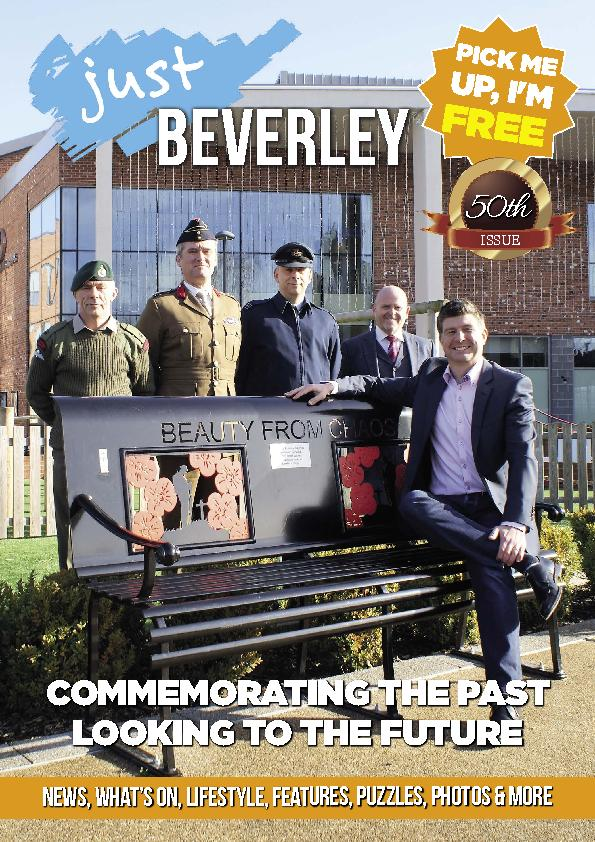 Just Beverley Magazine -  Issue 50