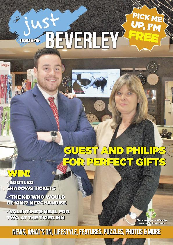 Just Beverley Magazine - Issue 49