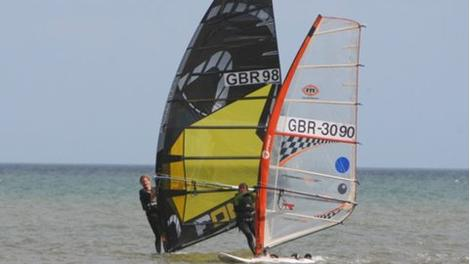 UK Windsurfing Championships set sail for Bridlington
