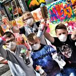ArtWaves - Youngters Take Part in Street Art
