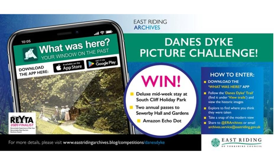 A chance to take part in the Danes Dyke Picture Challenge