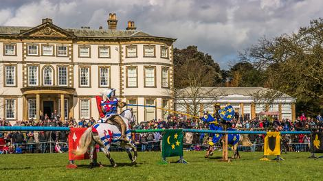 Medieval jousting with a difference this Sunday
