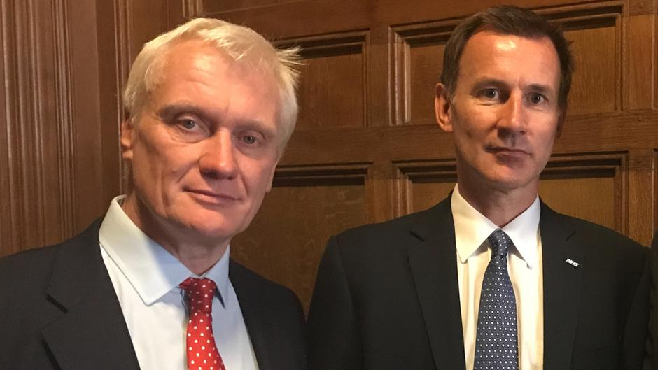 GS and Jeremy Hunt