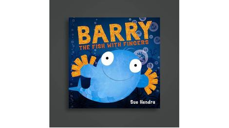 Barry the Fish with Fingers 10th Birthday Storytimes this half term in East Riding Libraries