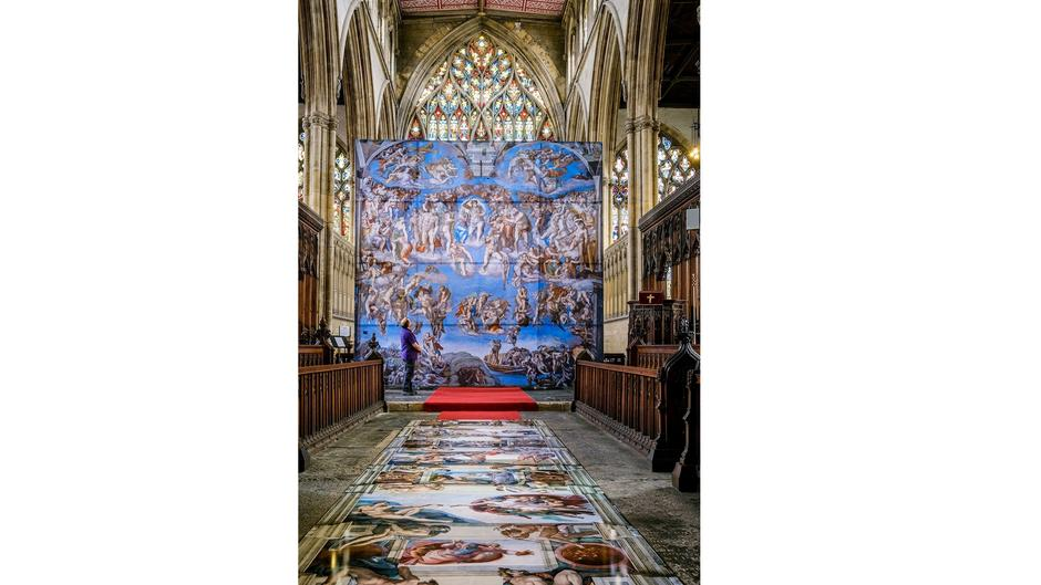 Hull Minster Sistine Chapel 1