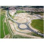Work completed on new roundabout on Beverley's Minster Way