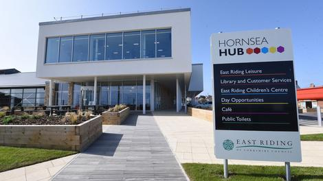 The brand new Hornsea Hub opens on Monday (26 October)