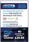 Special Offer at Beverley Motor Works