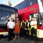 East Yorkshire Motor Services helps new recruits on the road to success with engineering apprenticeships
