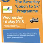 Inspired by the Beverley 10k? Join Beverley Athletic Club's Couch to 5k Programme