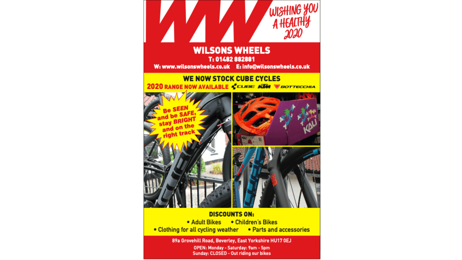 Wilsons Wheels Advert