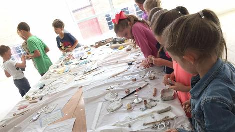THECREATIVECLUB – Amazing opportunities for young people to work with professional artists this half term
