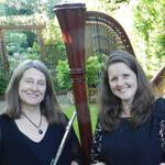 Rachel Jerome & Susan Wheeldon celebrate Valentine's Day with Harp and Flute in Beverley