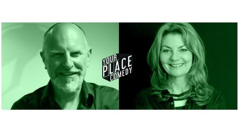 Jo Caulfield & Simon Evans your place comedy