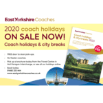 2020 coach holidays ON SALE NOW!