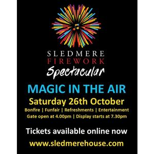 Musical Fireworks Spectacular at Sledmere House!