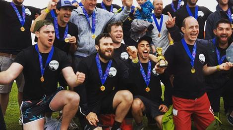 Brewery team wins fundraising dragon boat race