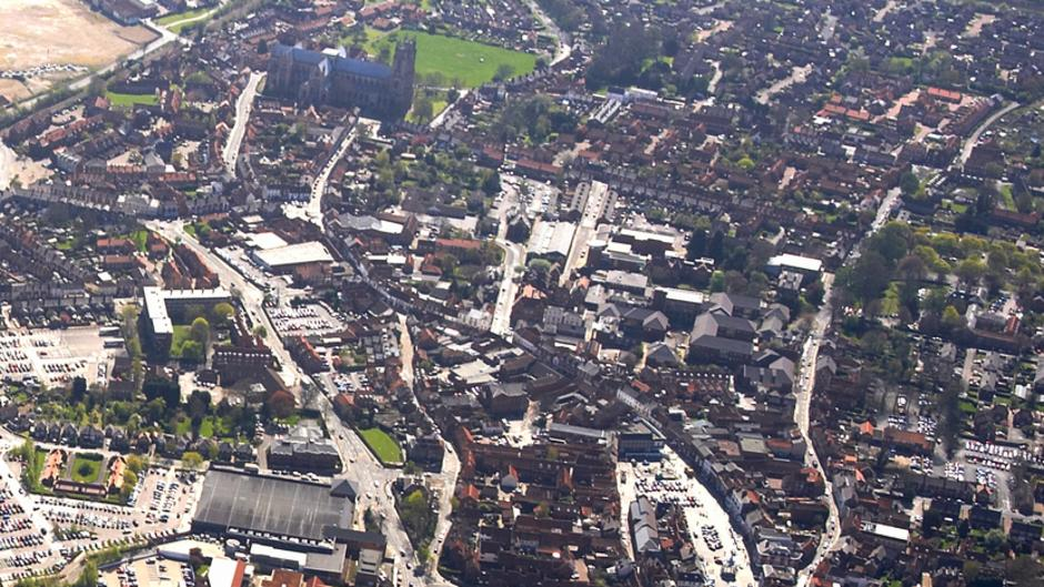 Beverley from above