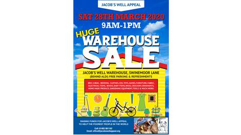 Jacob's Well Warehouse Sale