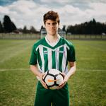 Levi Tarbottom, Men's Football Captain at Bishop Burton College