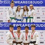 Medals for Tommy and Maddy at the British Judo Championships!