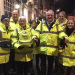 Cllr Healy, an eventful night with Beverley Street Angels