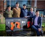 A LASTING TESTAMENT TO LOCAL BUSINESS GENEROSITY – MEMORIAL BENCH TAKES PRIDE OF PLACE AT BEVERLEY'S FLEMINGATE CENTRE