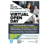 East Riding College Virtual Open Day