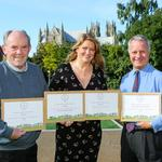 Flemingate and Beverley strike gold again in Yorkshire in Bloom awards