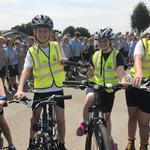 East Riding schoolchildren take part in second Schools' Yorkshire Tour Baton Relay