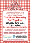 The Great Beverley Get Together is this Saturday