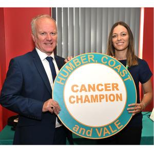 Council's partnership helps raise awareness of cancer