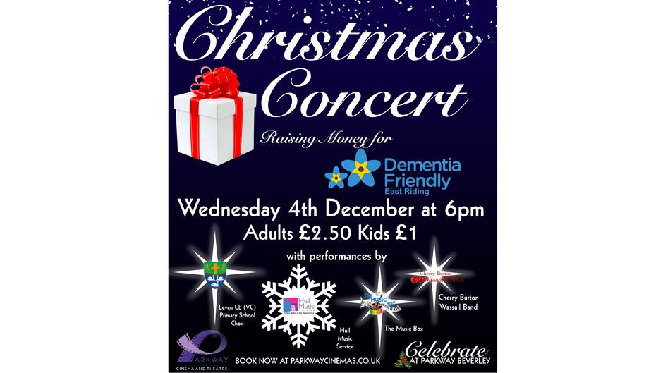 Charity Christmas Concert at Parkway Cinema!