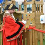 Mayor Opens Flemingate Play  Park