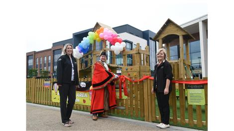 Flemingate new play area opened by Beverley Mayor