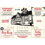 Christmas meals at The Tiger Inn