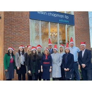 Solicitors don Santa hats to stride out this festive season, raising vital funds for our nation's veterans.