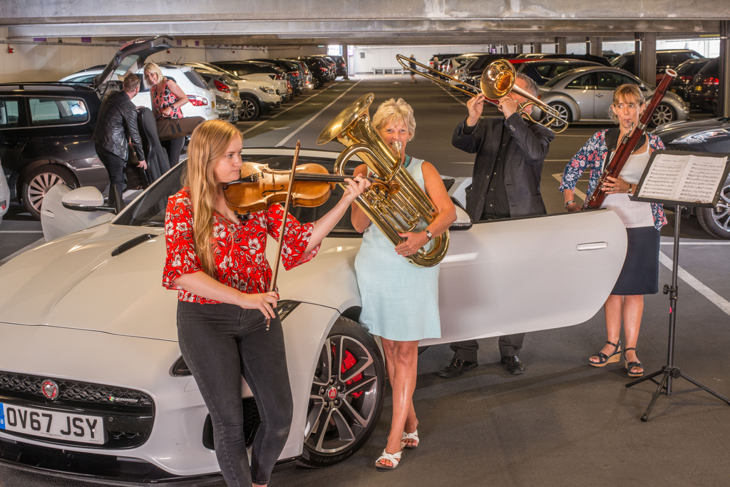 Multi-Story Orchestra performing in Beverley this Saturday - in a car park!