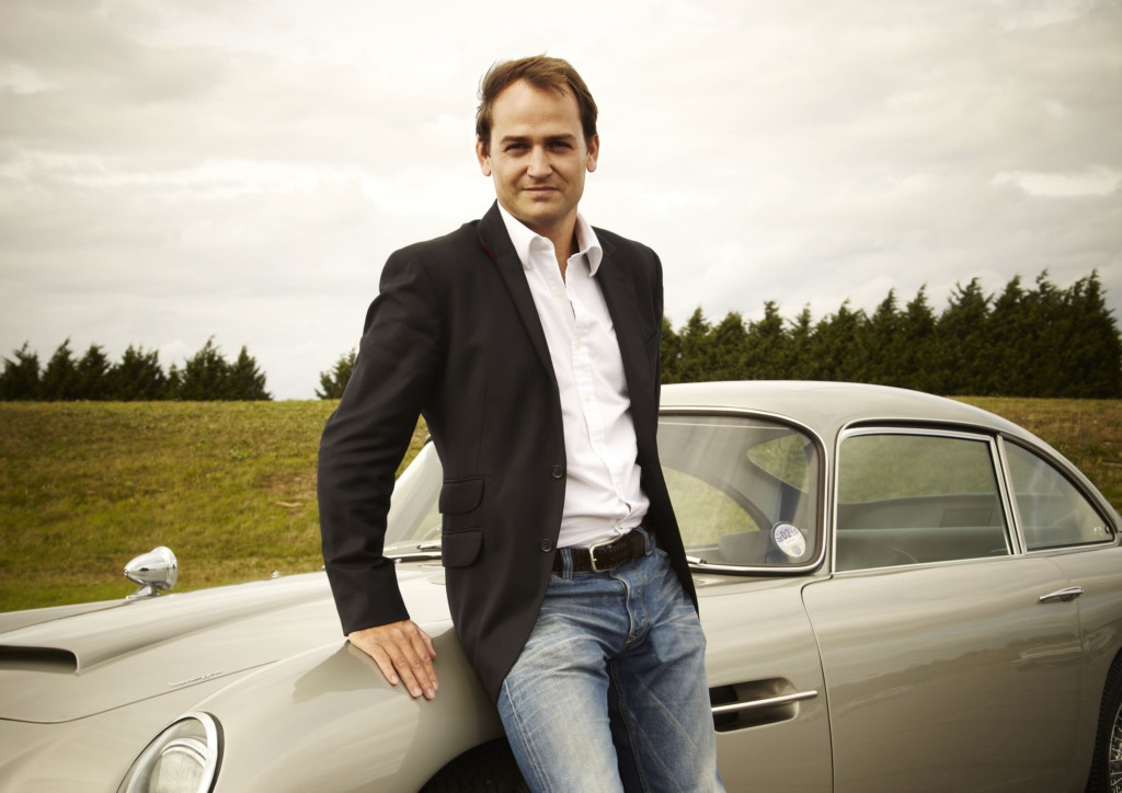 Racer and stunt driver Ben Collins in the East Riding Festival of Words this Sunday (18 October