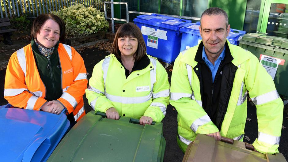 Waste & recycling officers 2