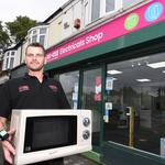 Recyclers in Hull and East Riding raise £9,000 for Dove House Hospice through Reuse Electricals Shop