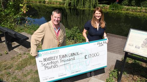Beverley Town Council awarded £17,000 in commuted sums funding from East Riding of Yorkshire Council